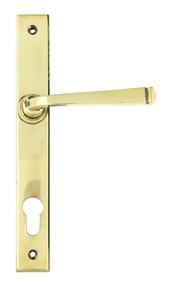 View Aged Brass Avon Slimline Lever Espag. Lock Set offered by HiF Kitchens