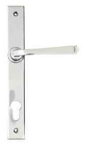 View Polished Chrome Avon Slimline Lever Espag. Lock Set offered by HiF Kitchens
