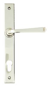 View Polished Nickel Avon Slimline Lever Espag. Lock Set offered by HiF Kitchens