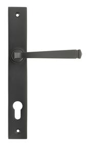 View Aged Bronze Avon Slimline Espag. Lock Set offered by HiF Kitchens