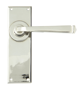 View Polished Nickel Avon Lever Latch Set offered by HiF Kitchens
