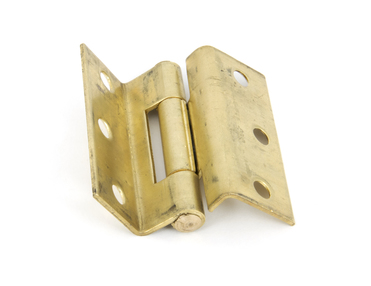 View Self Coloured Brass 2½'' (pair) Stormproof Hinge 1951 offered by HiF Kitchens