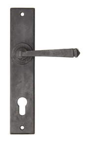 View External Beeswax Avon Lever Espag. Lock Set offered by HiF Kitchens
