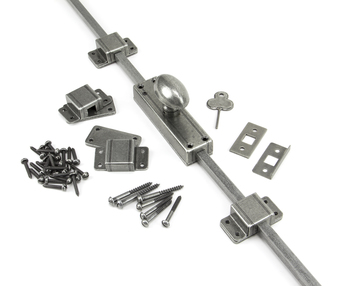 View Pewter Cremone Bolt offered by HiF Kitchens