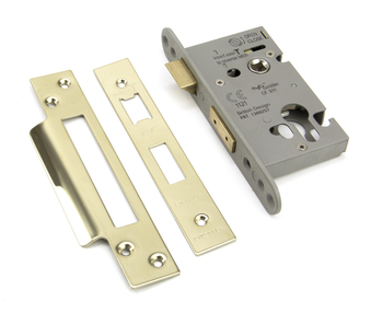 View PVD 2½'' Euro Profile Sash Lock offered by HiF Kitchens