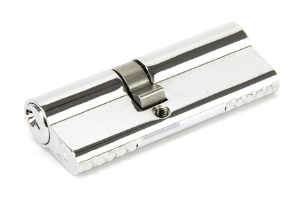 View Polished Chrome 35/45 Euro Cylinder offered by HiF Kitchens