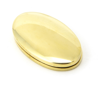 View Polished Brass Oval Escutcheon & Cover offered by HiF Kitchens