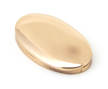 View Polished Bronze Oval Escutcheon & Cover offered by HiF Kitchens