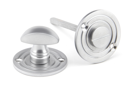 View Satin Chrome Round Bathroom Thumbturn offered by HiF Kitchens