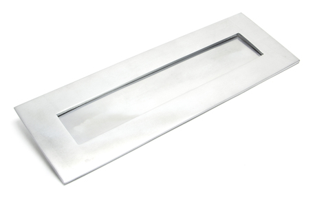 View Satin Chrome Large Letter Plate offered by HiF Kitchens