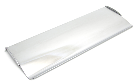 View Satin Chrome Large Letter Plate Cover offered by HiF Kitchens