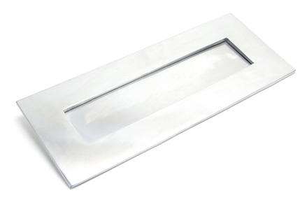 View Satin Chrome Small Letter Plate offered by HiF Kitchens