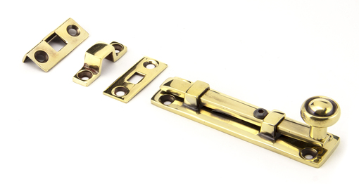 View Aged Brass 4'' Universal Bolt offered by HiF Kitchens