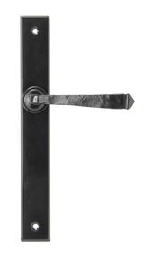 View Black Avon Slimline Lever Latch Set offered by HiF Kitchens