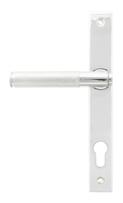 View Polished Chrome Brompton Slimline Lever Espag. Lock Set offered by HiF Kitchens