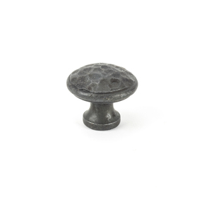 Added From The Anvil Beeswax Hammered Cabinet Knob - Medium 33197 To Basket