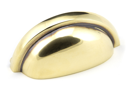 View Aged Brass Regency Concealed Drawer Pull 45405 offered by HiF Kitchens