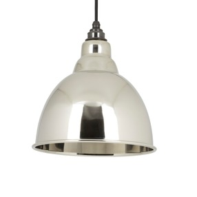 View From The Anvil Smooth Nickel Brindley Pendant 49504 offered by HiF Kitchens