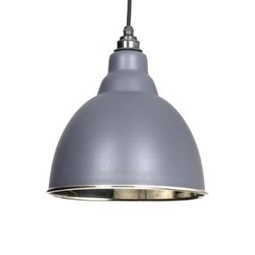 Added From The Anvil Dark Grey Smooth Nickel Brindley Pendant 49504DG To Basket