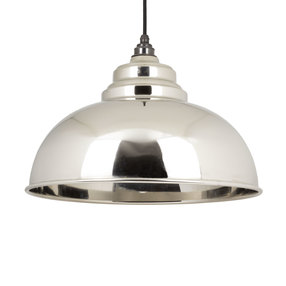 View From the Anvil Smooth Nickel Harborne Pendant 49505 offered by HiF Kitchens