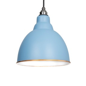 View From The Anvil The Brindley Pendant in Pale Blue 49507PB offered by HiF Kitchens
