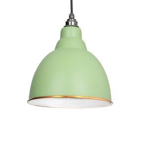 Added From The Anvil The Brindley Pendant in Sage Green 49507SG To Basket