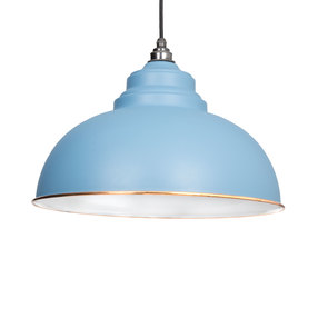 View From The Anvil The Harborne Pendant in Pale Blue 49508PB offered by HiF Kitchens