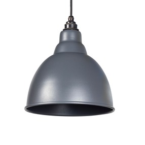 View From the Anvil Dark Grey Full Colour Brindley Pendant 49514DG offered by HiF Kitchens