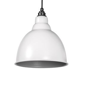View From The Anvil Light Grey Full Colour Brindley Pendant 49514LG offered by HiF Kitchens