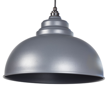 View From The Anvil Dark Grey Full Colour Harborne Pendant 49515DG offered by HiF Kitchens