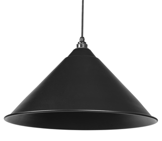 Added From The Anvil Black Full Colour Hockley Pendant 49520B To Basket