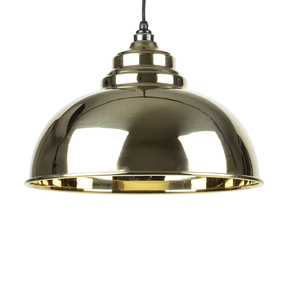 Added From The Anvil Smooth Brass Harborne Pendant 49522 To Basket