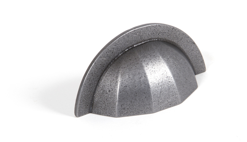 Added From The Anvil Natural Smooth 4'' Shell Drawer Pull 83519 To Basket