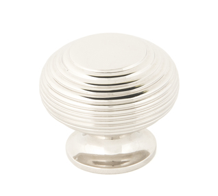 View From The Anvil Polished Nickel Beehive Cabinet Knob 40mm 83868 offered by HiF Kitchens