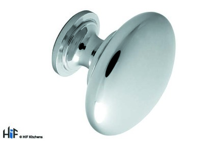 View 622/30C Shaw Knob Polished Chrome Central Hole Centre offered by HiF Kitchens