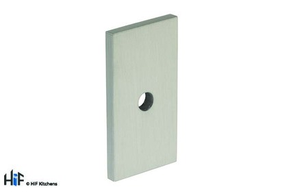 B385.40.SS Kitchen Rectangular Backplate Stainless Steel  Image