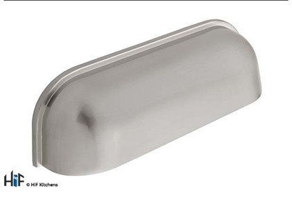 View H1028.64.SS Guildford Cup Handle Polished Stainless Steel Effect offered by HiF Kitchens