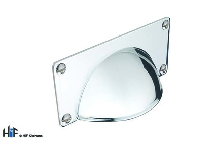 View H1079.32.CH Wellington Cup Handle Polished Chrome 32mm Hole Centre offered by HiF Kitchens