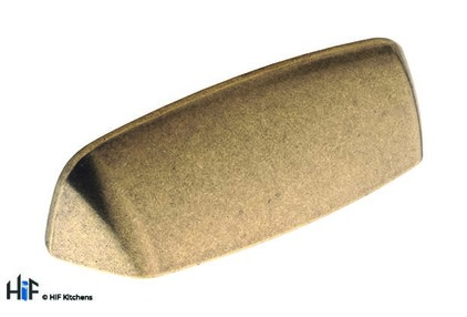 View H1104.96.BR Kitchen Cup Handle 96mm Antique Bronze Effect offered by HiF Kitchens