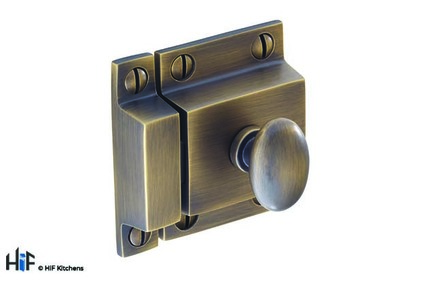 View H1117.50.BR Cupboard Latch Handle Solid Brass Antique Bronze offered by HiF Kitchens