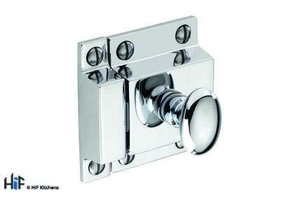 View H1117.50.CH Wellington Latch Handle Polished Chrome Central Hole Centre offered by HiF Kitchens
