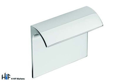 View H1118.32.CH Escrick Trim Handle Polished Chrome 32mm Hole Centre offered by HiF Kitchens