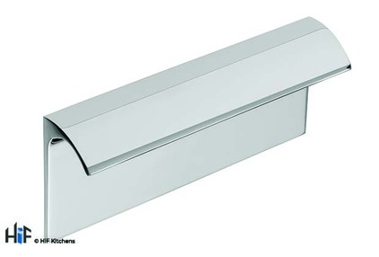View H1119.96.CH Escrick Trim Handle Polished Chrome 96mm Hole Centre offered by HiF Kitchens