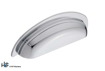 View H1136.96.CH Cup Handle 96mm Hole Centre Chrome Finish offered by HiF Kitchens
