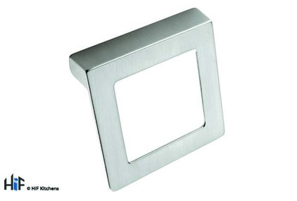 View H425.32.BS Square Handle Die-Cast Brushed Steel offered by HiF Kitchens