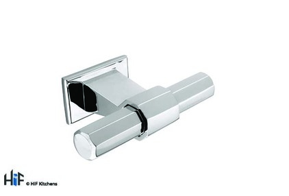 Added H995.68.CH Bloomfield T-Bar Handle Polished Chrome Central Hole Centre To Basket