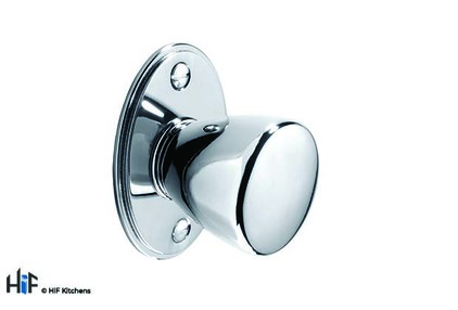 View K1000.35.CH Yeadon Knob Polished Chrome 43mm Hole Centre offered by HiF Kitchens