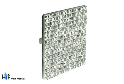 K1039.32.DN Square Knob 32mm Die-Cast Dull Nickel Mosaic Finish Image