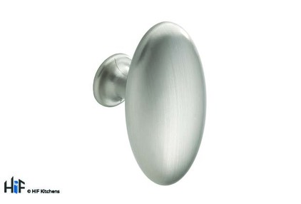 View K1068.64.SS Lythe Oval Knob Polished Stainless Steel offered by HiF Kitchens