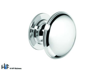 View K1074.45.BN Knob Solid Brass 45mm Nickel Finish 1909 offered by HiF Kitchens
